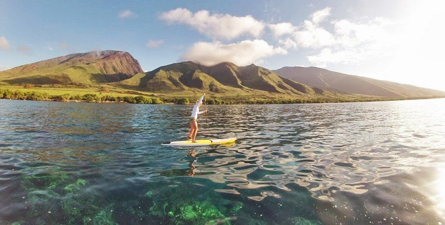 Maui stand up paddle tours