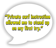 surf lesson review